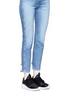 Adidas'Tubular Radial CNY' neoprene sneakers