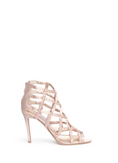 Jimmy Choo 'Violet 100' knotted satin sandals