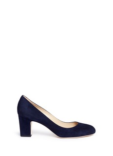 Jimmy Choo 'Billie 65' chunky heel suede pumps