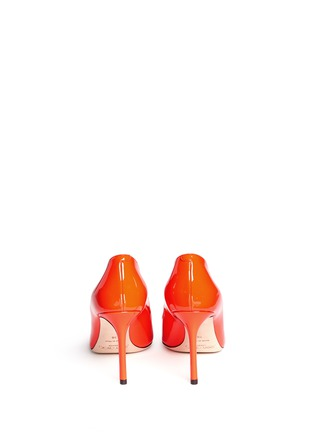 Back View - Click To Enlarge - Jimmy Choo - 'Romy 85' patent leather pumps