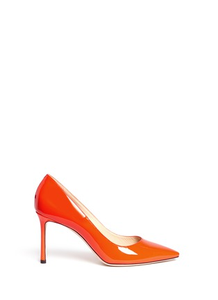 Main View - Click To Enlarge - Jimmy Choo - 'Romy 85' patent leather pumps
