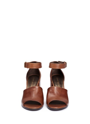 Front View - Click To Enlarge - Stuart Weitzman - 'Soho Gal' calfskin leather sandals