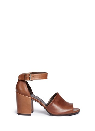 Main View - Click To Enlarge - Stuart Weitzman - 'Soho Gal' calfskin leather sandals