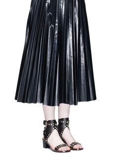 Isabel Marant'Jaeryn' cabochon and stud leather sandals