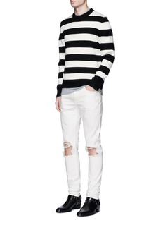 Saint LaurentRipped skinny jeans