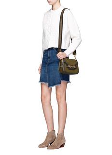 Rebecca Minkoff'Florence' leather saddle bag