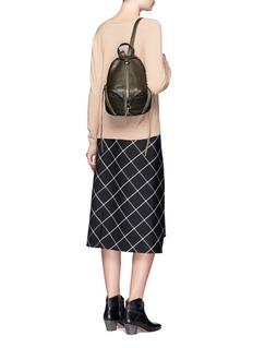 Rebecca Minkoff'Julian' medium pebbled leather backpack