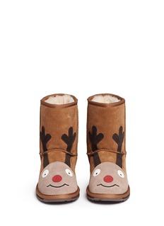 EMU AUSTRALIA'Reindeer' suede kids boots