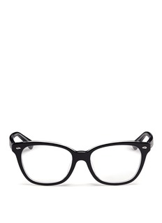 RAY-BAN Two tone square cateye optical glasses
