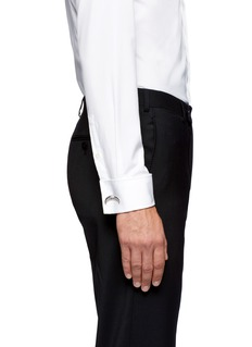 GIVENCHYHorn bar cufflinks