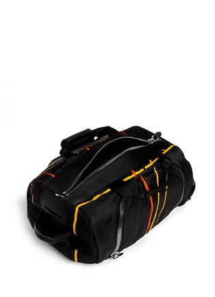 Givenchy - Basketball court print duffle backpack