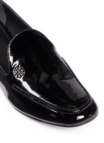 'Dominique' patent leather loafers