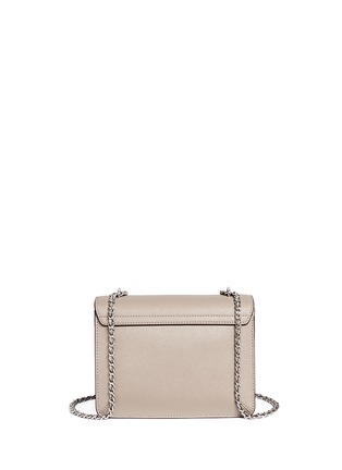 Back View - Click To Enlarge - Tory Burch - 'Robinson' convertible saffiano leather chain bag