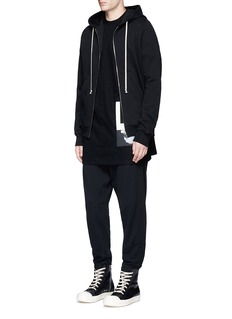DRKSHDW by Rick Owens Oversized patch T-shirt