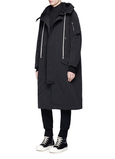 DRKSHDW by Rick Owens 'Flight' padded parka coat