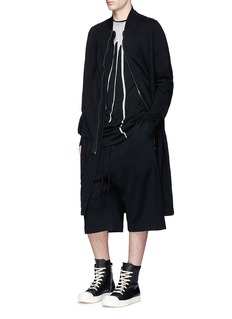 DRKSHDW by Rick Owens 'Level' oversized bleach effect T-shirt
