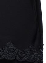 'Sakshee' scalloped lace hem crepe camisole