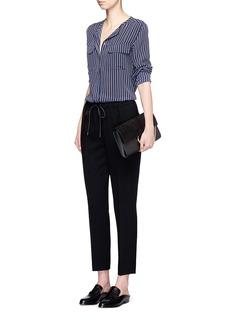 EQUIPMENT'Lynn' stripe silk shirt