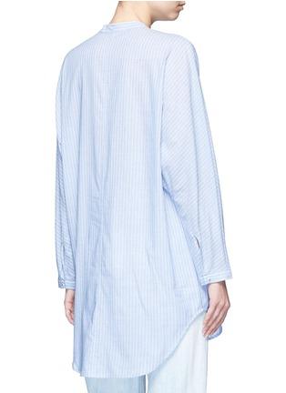 Equipment-'Elsie' stripe cotton tunic shirt
