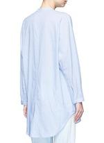 'Elsie' stripe cotton tunic shirt
