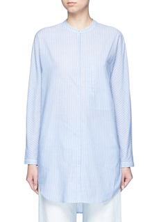 Equipment'Elsie' stripe cotton tunic shirt