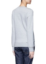 'Rockstud Untitled 08' cotton blend sweatshirt