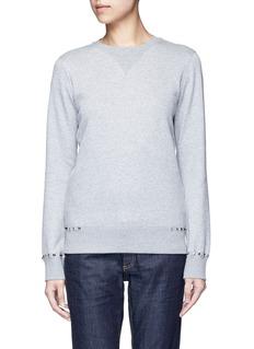 Valentino'Rockstud Untitled 08' cotton blend sweatshirt