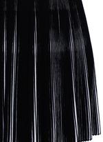 'Seguidille' plissé pleat knit long sleeve dress