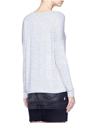 Back View - Click To Enlarge - rag & bone/JEAN - 'Theo' V-neck T-shirt