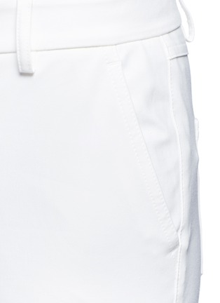 Detail View - Click To Enlarge - Theory - 'Avla' stretch twill flare pants