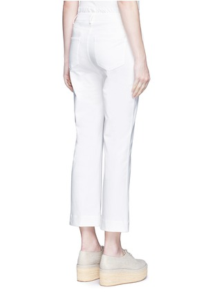 Back View - Click To Enlarge - Theory - 'Avla' stretch twill flare pants