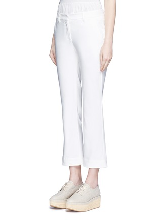 Front View - Click To Enlarge - Theory - 'Avla' stretch twill flare pants