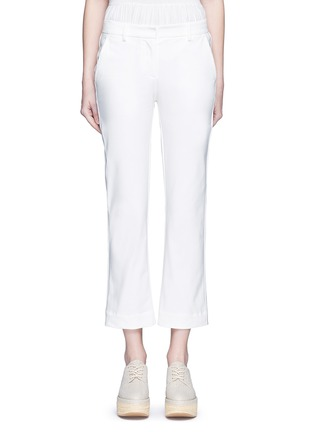 Main View - Click To Enlarge - Theory - 'Avla' stretch twill flare pants