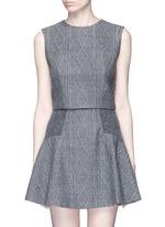 'Kylnn' knit effect tank top