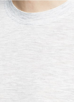 Detail View - Click To Enlarge - Vince - Heathered jersey cocoon T-shirt