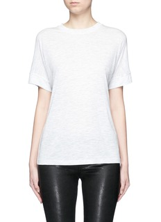 Vince Heathered jersey cocoon T-shirt