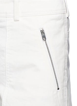 Detail View - Click To Enlarge - rag & bone - 'Grace' canvas cropped pants