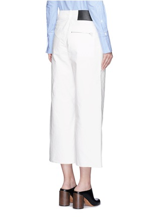 Back View - Click To Enlarge - rag & bone - 'Grace' canvas cropped pants