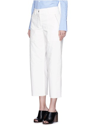 Front View - Click To Enlarge - rag & bone - 'Grace' canvas cropped pants