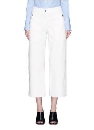Main View - Click To Enlarge - rag & bone - 'Grace' canvas cropped pants