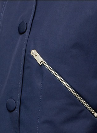 Detail View - Click To Enlarge - Stella McCartney - Zip pocket technical parka jacket
