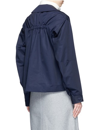 Back View - Click To Enlarge - Stella McCartney - Zip pocket technical parka jacket