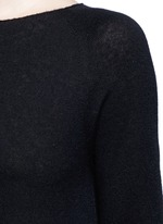 'Banny' cashmere-silk knit sweater