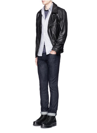 Figure View - Click To Enlarge - J Brand - 'Kane' resin denim jeans