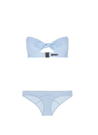 Main View - Click To Enlarge - Lisa Marie Fernandez - 'Poppy' denim bandeau set