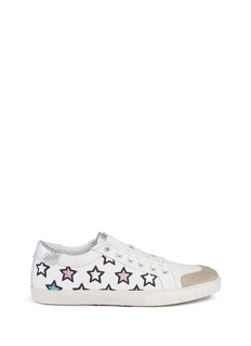 Ash 'Majestic' metallic star appliqué leather sneakers