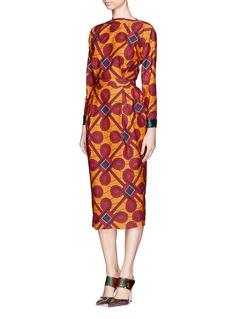 STELLA JEANCinzia' tribal print pencil dress