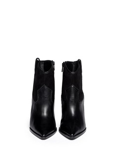 ASH 'Jude' leather wedge ankle boots
