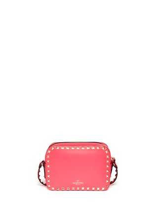 Back View - Click To Enlarge - Valentino - 'Rockstud' leather Camera Bag