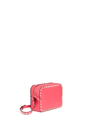 Front View - Click To Enlarge - Valentino - 'Rockstud' leather Camera Bag